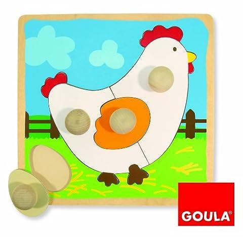 Goula - 53066 - Puzzle - Poule