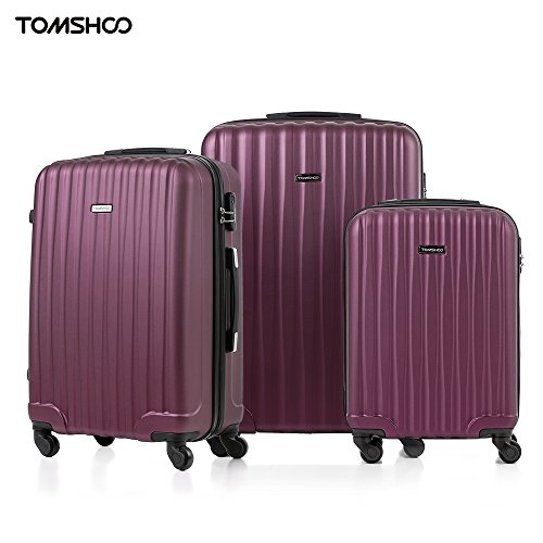 tomshoo-fashion-3-piece-luggage-set-carry-on-suitcase-abs-trolley-20-24-28-hard-shell-combination-lo