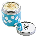 DRH Egg Coddler / Egg Poacher, Blue Spotty - 990112G+1569 by BIA