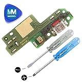MMOBIEL Dock Connector Lade Port USB für Huawei P9 Lite (2016) 5.2 Inch Micro USB 2.0 Charging Port Flexkabel mit Mikrofon und Lautsprecher Anschluss vorinstalliert inkl 2 x Schraubenzieher