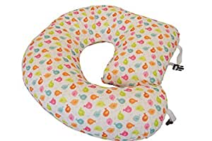 The NEW One Z Nursing Pillow w/ AMAZING BACK SUPPORT -USA- WATERPROOF BIRDIES