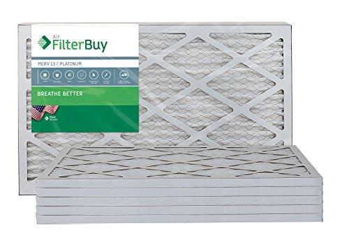 Ofen Filter/Air Filter-AFB Platinum Merv 13(6Pack), AFB13x21.5x1M13Apk6 -