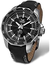Vostok Europe NH25/2255146–Armbanduhr, Lederband