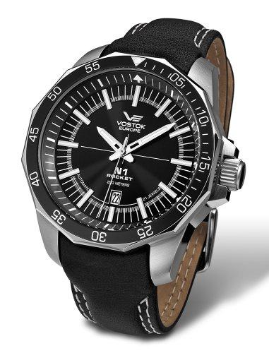 Vostok Europe NH25/2255146 - Reloj, correa de cuero