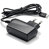 Slabo Chargeur Secteur Micro USB Universel - 1000mA - pour Smartphone / Tablette / eBook / Lecteur MP3 / Système de navigation Téléphone Portable Chargeur de Voyage Chargeur rapide - Noir