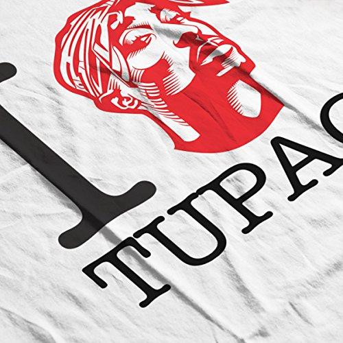 I Heart Tupac Men's T-Shirt White