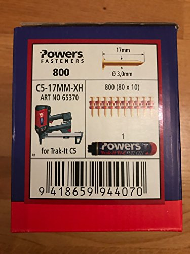 Powers ongles C5-17 mm XH de gaz Cloueuse, Würth Diga CS 2,...
