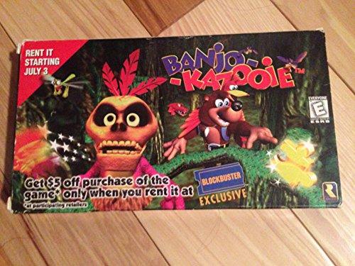 "1998 Nintendo Of America, Inc. Nintendo/Rareware Banjo-Kazooie Toys\""R\"" Us The New Adventure Begins 30. Juni 1998 VHS Tape (spezielles VHS Klebeband)"