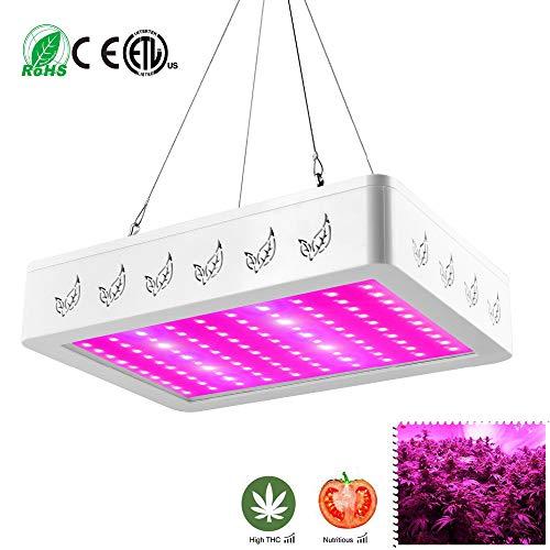 2000W LED Grow Lamp Panel Pflanzenbau Vollspektrum Licht für VEG und BLOOM Grow Tent Indoor Garden Hydroponic