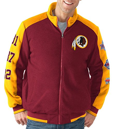 washington-redskins-nfl-classic-mens-super-bowl-commemorative-varsity-jacket-veste