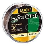 Angelschnur JAXON SATORI CARP 600m Spule Monofile Karpfen Schnur (0,02€/m) (0,35mm / 23kg)