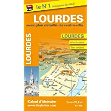 Plan de Lourdes (Echelle : 1/7 650)