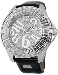 Carlo Monti Damen-Armbanduhr XL Andria Analog Quarz Leder CMY01-112