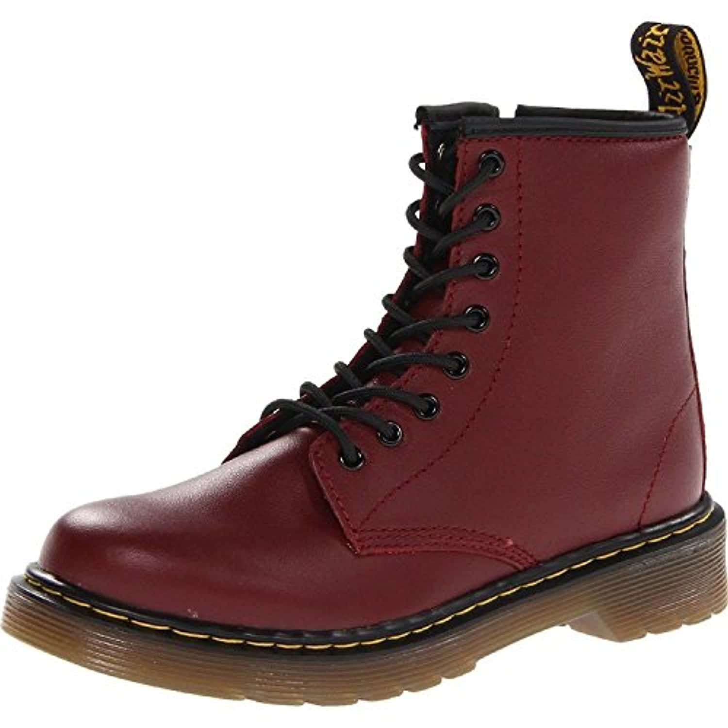 Dr Martens Delaney Youth Cherry Red Leather 5.5 UK