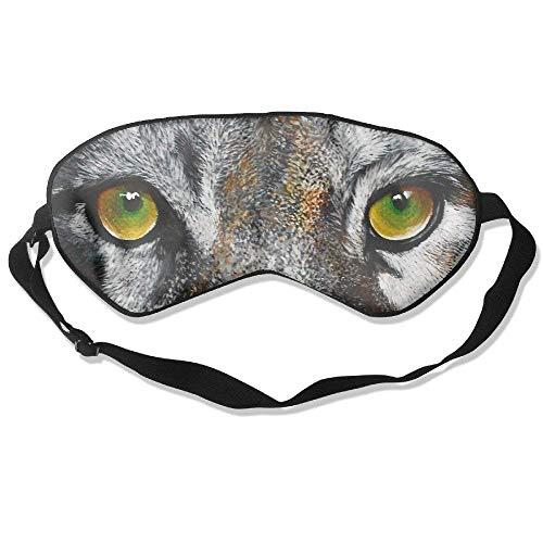 Novelty Wild Animal Eyes Unisex Sleep Mask Blinder Shade Eye Mask Eyeshade for Travel,Home,Hotel,Plane -