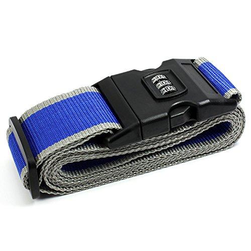 WESTLINK - Etiqueta para equipaje , azul (azul) - OH-4205-BE-2PCS