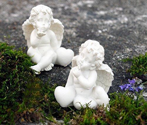 Engel mit Herz Glücksengel / Schutzengel mit Herzen (beide im Set) -