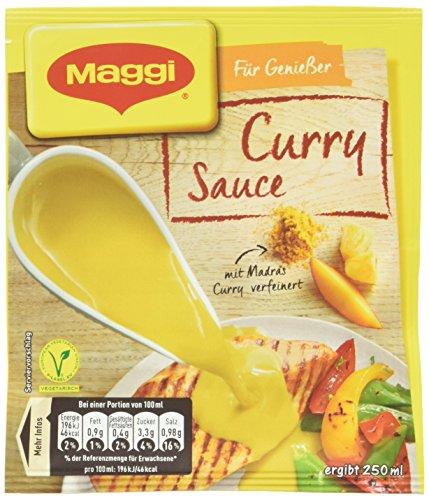 Maggi Meisterklasse Curry-Sauce, 15 er Pack (15 x 250 ml)