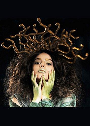 ge Kopfschmuck auf Stirnband (Medusa-kostüm Für Erwachsene)