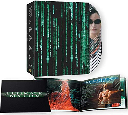 The Ultimate Matrix Collection: Original Movie Trilogy 1-3 + The Animatrix (10-Disc Set Loaded with Over 35 Hours of Bonus Features!)