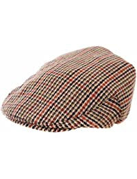 Kids Boys Girls Traditional Tweed Country Style Flat Cap Summer Winter Hat 56cm