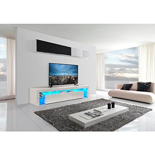 Tvs 8 Premium 2016 Tv Cabinet Stand With Led Lights