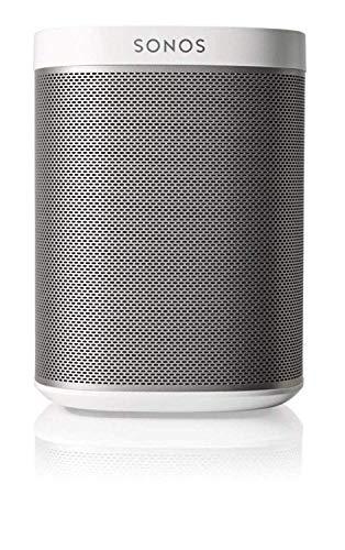 Sonos One Smart Speaker, weiß - Intelligenter WLAN Lautsprecher mit Alexa Sprachsteuerung, Google Assistant & AirPlay - Multiroom Speaker für unbegrenztes Musikstreaming