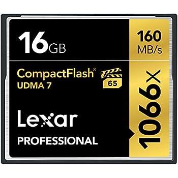 Lexar Professional - LSD16GCRBEU1000 - Carte Mémoire CompactFlash - UDMA 7 1066x