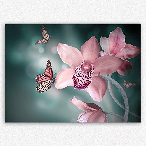 !!! SENSATIONSPREIS !!! ge-Bildet® hochwertiges Leinwandbild Pflanzen Bilder