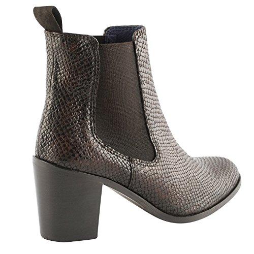 Exclusif Paris  Exclusif Paris Erika, Chaussures femme Bottines femme,  Damen Stiefel & Stiefeletten - Cuir Python