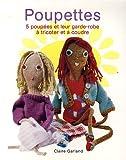 Poupettes : Cinq poupées et leur garde-robe à tricoter et à coudre