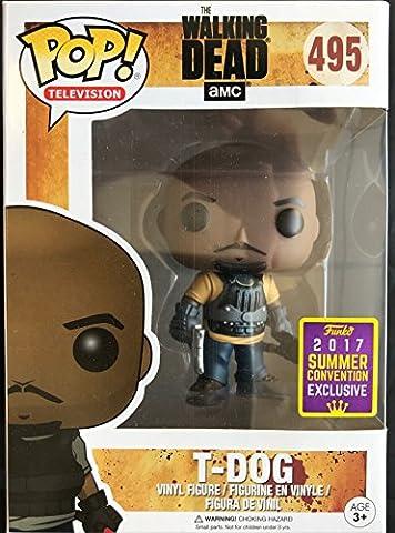 Funko - Figurine Walking Dead - T-Dog Exclu Pop 10cm - 0889698145794