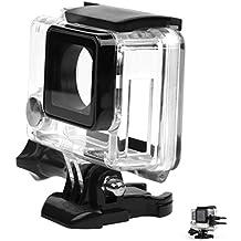 SHOOT Carcasa de Cámara Deportiva Cable Conectable Fundas para GoPro 3+/4 Black Silver Cámara de Acción