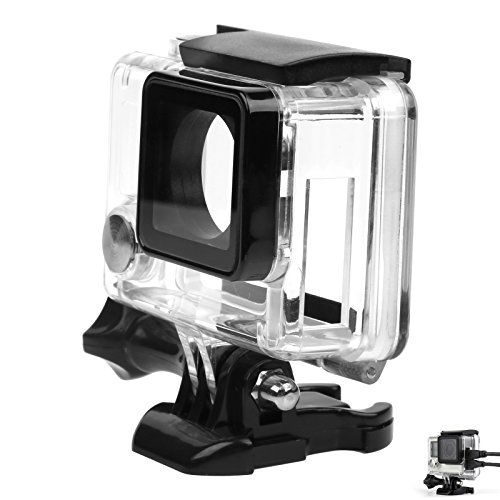 shoot-side-open-housing-case-wire-connectable-for-gopro-hero-3-4-black-silver-camera