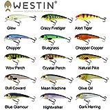 Westin Raw Bite Floating 11cm 26g - Wobbler zum Spinnfischen auf Hecht, Zander & Barsch, Hechtköder, Barschköder, Crankbait