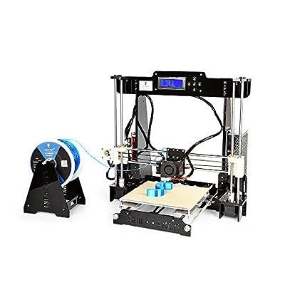 "SainSmart X Anet A8 Prusa i3 3D Drucker w / 9 ""x9"" x9 ""Heatbed, Drucke ABS, PLA, Holz, TPU, w / Probe TPU Filament"