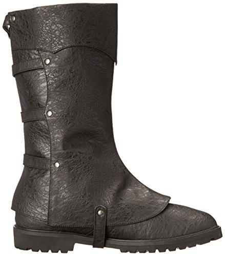 Funtasma gotham 105 style steampunk-guêtres, bottes en cuir synthétique noir, r Noir - Noir