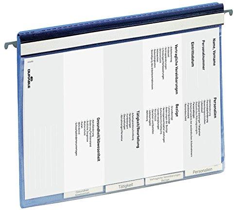 Durable 255506 Personalhefter, blau