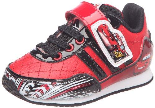 Adidasdisney cars 2 cf i - scarpe primi passi unisex - bambini, rosso (rouge/noir/blanc), 22