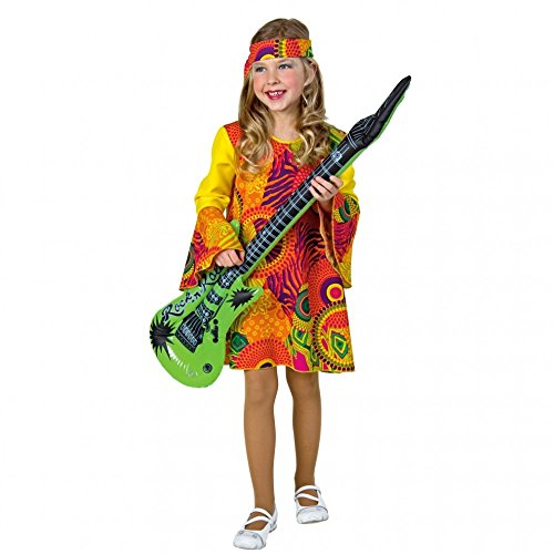 ld Kostüm Hippie rot für Mädchen ()