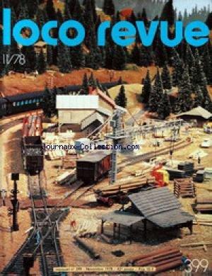 LOCO REVUE [No 399] du 01/11/1978 - LA REVUE DES MODELISTES ET AMATEURS. MODELISME - ELECTRICITE - ELECTRONIQUE. par Collectif