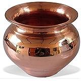 Shanky & Shiney || Poojan Samagri || Pooja Accessory Handmade Copper Lota | Kalash | Pooja Utensil