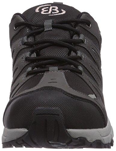 Bruetting  Expedition, Chaussures de trekking et randonnée homme Noir (Schwarz/Grau)
