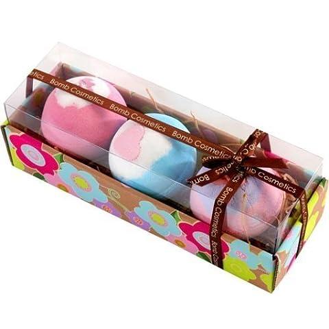 Bomb Cosmetics - Coffret cadeau de luxe - 3 boules