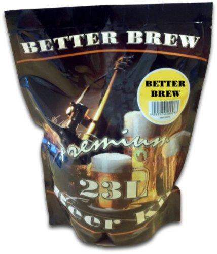 Better Brew Bier-Set für Exportierlager, 23 l, für Heimbrauen, Mild, Bierherstellung -