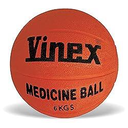 Vinex Medicine Ball Rubber, 6kg