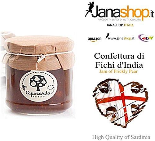 EXTRA FICHI D'INDIA CONFETTURA, Confettura di Fichi d'India, 220 gr.