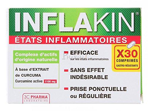3C Pharma Inflakin Apaisant Physiologique - Etats Inflammatoires 30 Comprimés