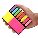 #3: Volar Fashion Sticky Note Memo Pad with 8 Index Tabs, Bright Neon Colors