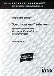 Holzer Stofftelegramme : Speditionskauffrau/-mann, Lösungen